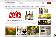 Weinhandel wein-deko.de