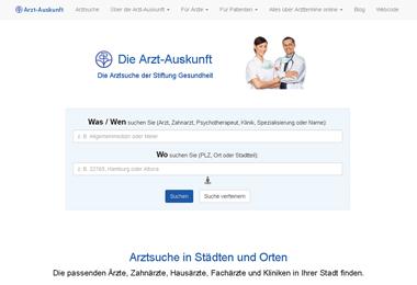 Arzt-Auskunft