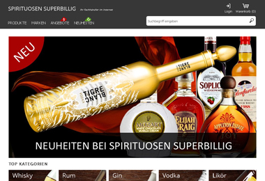 Spirituosen Superbillig Shop