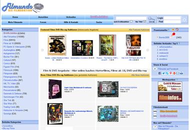 Filmundo: Filme, DVDs & Blu-rays kaufen